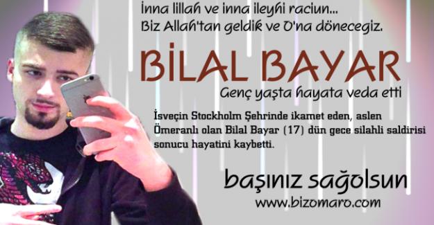 Bilal Bayar vefat etmiştir