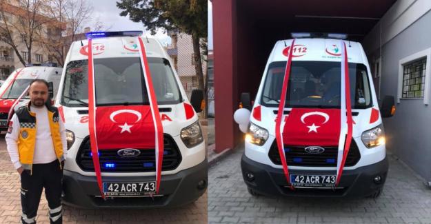 Kulu'ya Tam Donanımlı Ambulans Teslim Edildi