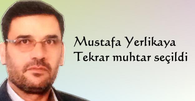 Mustafa Yerlikaya tekrar muhtar seçildi