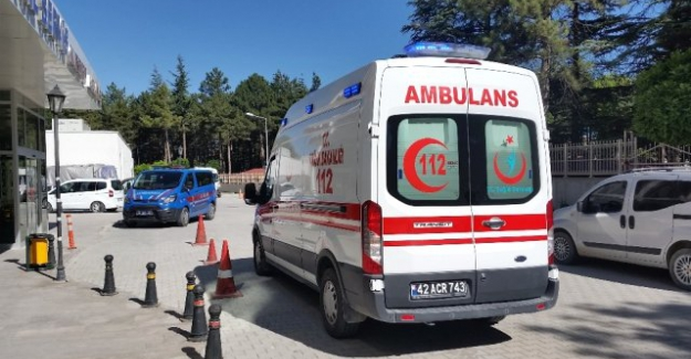 Kulu'da otomobil takla attı: 4 yaralı