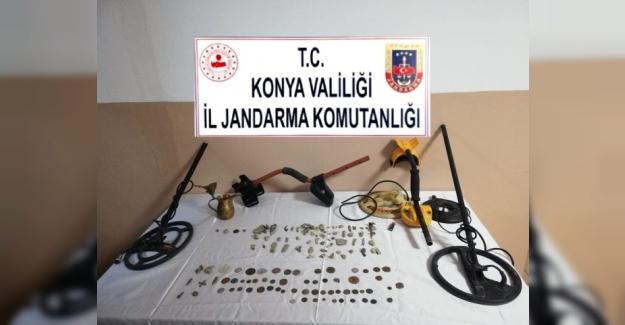 Kulu'da  tarihi eser kaçakçılığı operasyonu