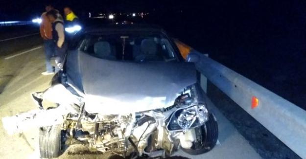 Ağabeyli Mahallesi yakınlarında meydana gelen trafik kazasında 3 kişi yaralandı