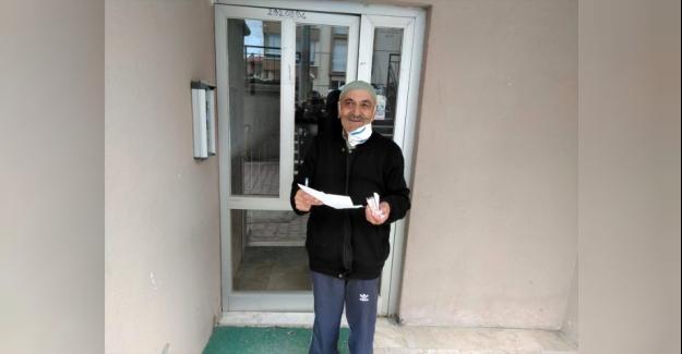 Kulu'da yaşlılara maaşları evlerine götürülüyor