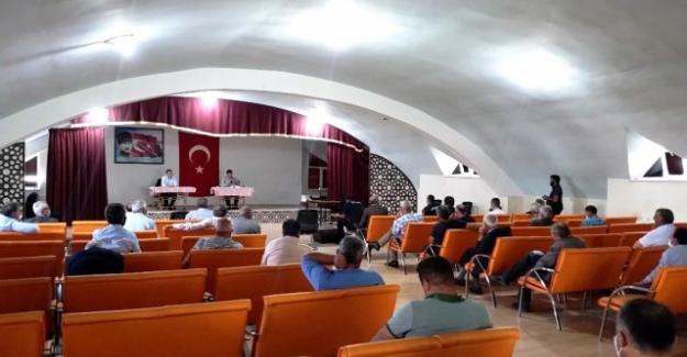 Kulu'da mahalle muhtarları bilgilendirme ve istişare toplantısı yapıldı