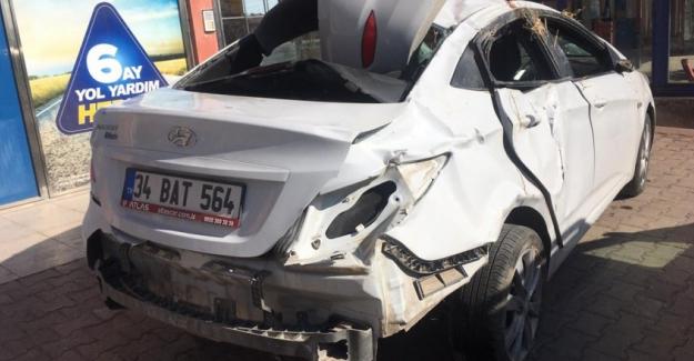 Kulu'da otomobil devrildi: 1 ölü, 4 yaralı