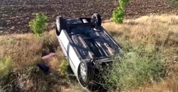 Kulu ilçesinde otomobilin takla atması sonucu 2 kişi yaralandı.