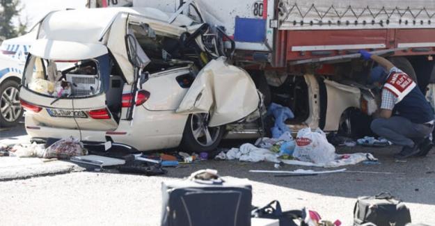 Son dakika: Ankara-Konya kara yolunda feci kaza: 5 ölü