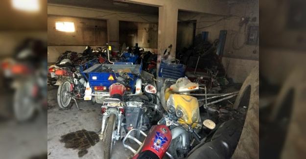Kulu'da Çaldıkları motosikletleri bırakıp kaçtılar