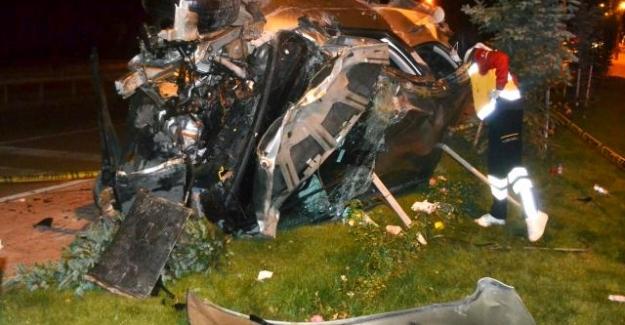 Kulu ilçesinde devrilen otomobildeki 6 kişi yaralandı.