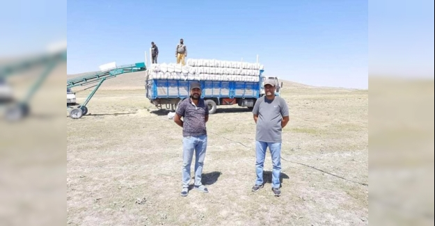 Kulu'dan Manavgat'a saman balyası yardımı
