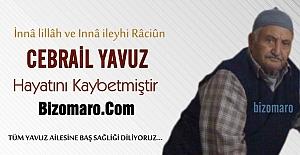Cebrail Yavuz Hayatini Kaybetmistir