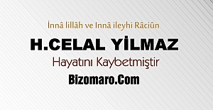 H.Celal Yilmaz Hayatini Kaybetti