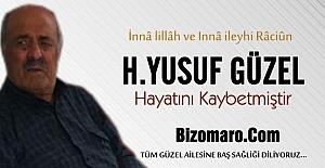 H.Yusuf Güzel Hayatini Kaybetmistir