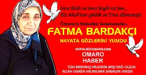 Fatma Bardakçı vefat etmiştir