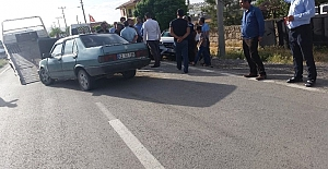 Kulu'da iki otomobil çarpıştı: 5 yaral