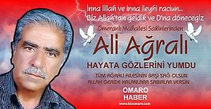 Ali Ağralı Vefat etmiştir