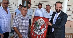 Hollanda Ankara Büyükelçi Yardımcısı Weststrate Kulu'da