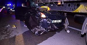 Kulu#039;da Trafik kazası: 1 ölü,...