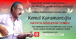 Kemal Karamanoğlu  Vefat etmiştir