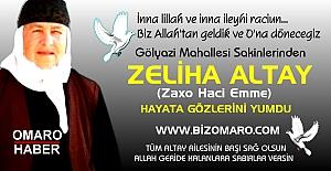 Zeliha Altay  vefat etmiştir