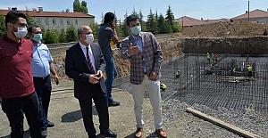 Ömeranlı Entegre Devlet Hastanesi inşaatı hızla ilerliyor