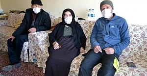 Kulu'da 20 torunlu 95 yaşındaki kadın korona virüsü yendi