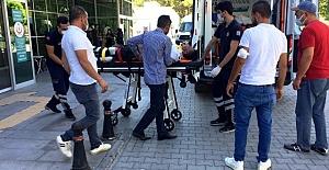 Kulu'da Motosikletle hafif ticari araç çarpıştı: 1 yaralı