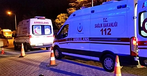 Ömeranlı Mahallesi yakınlarında meydana gelen  trafik kazasında 4 kişi yaralandı.