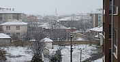 Kulu'ya mevsimin ilk karı yağdı