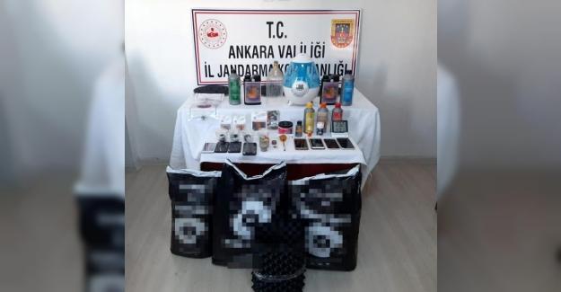 Ankara jandarmasından hayvan hırsızlarına ve uyuşturucu satıcılarına darbe