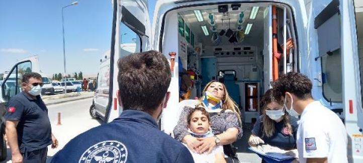 Kapadokya gezisi dönüşü kaza: 6 yaralı