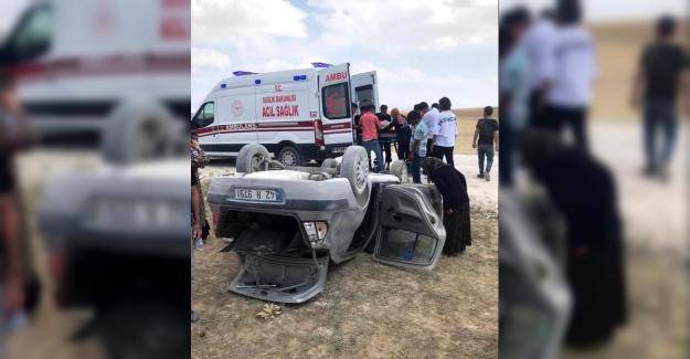 Kulu'da 'da otomobil takla attı: 2 yaralı