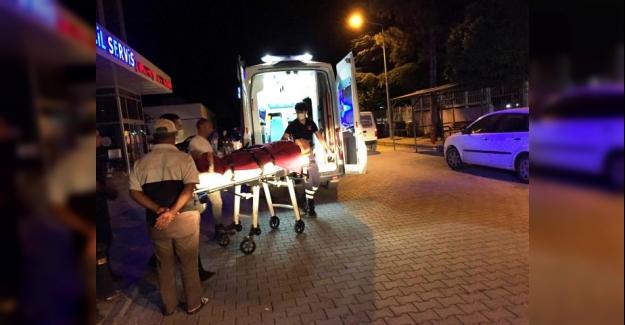 Kulu'da Otomobille çarpışan motosiklet sürücüsü yaralandı