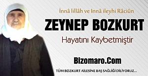 Zeynep Bozkurt Vefat etmiştir