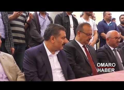 Sağlık Bakanı Koca Hasan Demir'in cenazesine katıldı